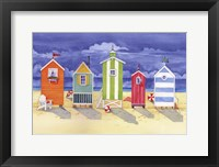 Framed Brighton Huts