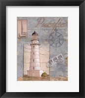Seacoast Lighthouse II Framed Print