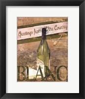 Chateau Chardonnay Framed Print