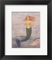 Mermaid Cove Framed Print