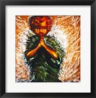 Framed Praying little angel