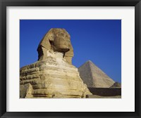 Framed Great Sphinx, Giza, Egypt