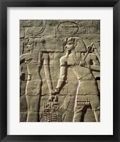 Framed Temples of Karnak, Luxor, Egypt