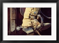 Framed Cowboy boot