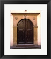 Framed Prague Door II
