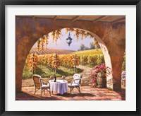 Framed Vineyard for Two