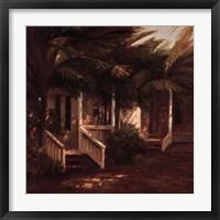 La Casa Sotto Le Palme Framed Print