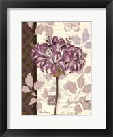 Chelsea Purple I Framed Print