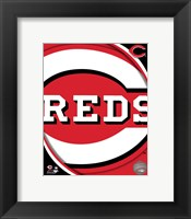 Framed 2011 Cincinatti Reds Team Logo