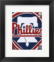 Framed 2011 Philadelphia Phillies Team Logo