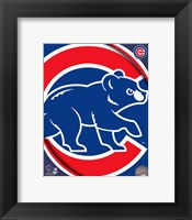 Framed 2011 Chicago Cubs Team Logo