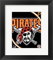 Framed 2011 Pittsburgh Pirates Team Logo
