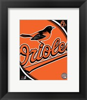 Framed 2011 Baltimore Orioles Team Logo