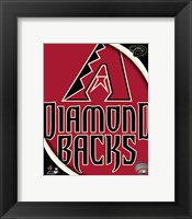 Framed 2011 Arizona DBacks Team Logo