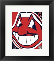 Framed 2011 Cleveland Indians Team Logo