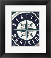 Framed 2011 Seattle Mariners Team Logo