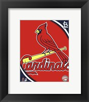 Framed 2011 St. Louis Cardinals Team Logo