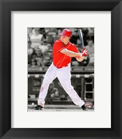 Framed Jay Bruce 2011 Spotlight Action