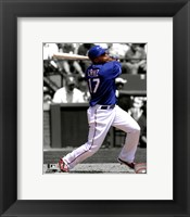 Framed Nelson Cruz 2011 Spotlight Action