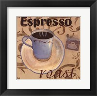 Espresso Roast Framed Print