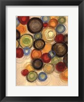 Framed Colorful Whimsy I