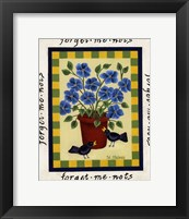 Framed American Flowers II