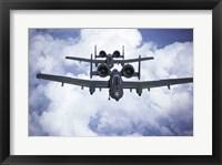 Framed Fairchild A-10 Thunderfird Anti-Tank Bombers