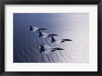 Framed F-15 Fighters US Air Force