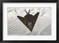 Framed Lockheed F-117 Stealth Fighter