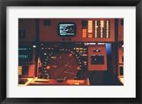 Framed Radar Console U.S. Armed Forces
