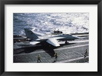 Framed U.S. Navy F-14 Tomcat USS John F. Kennedy