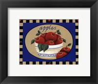 Framed American Fruits III