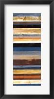 Stripes Panel I Framed Print