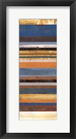 Stripes Panel II Framed Print