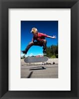 Framed Skateboarder