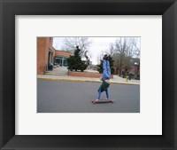 Framed Upsidedown Skater