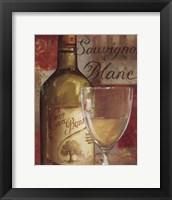 Vin Abstrait II Framed Print