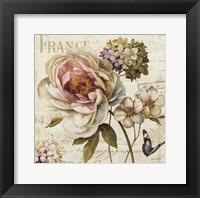 Framed Marche de Fleurs III