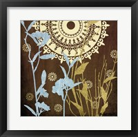 Botanical Silhouettes II Framed Print
