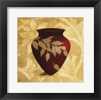 Red Vase I Framed Print
