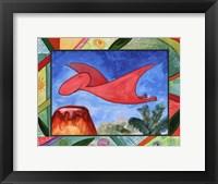 Baby Dino Mytes - Edgar Framed Print