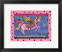 Framed Fairy Merry Go Round