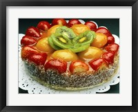 Framed Close-up of a cheesecake