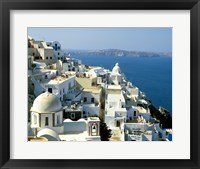 Framed Skyline in Cyclades Islands, Greece