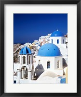 Framed Santorini, Oia , Cyclades Islands, Greece