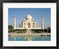 Framed Photo of theTaj Mahal