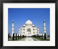 Framed Facade of the Taj Mahal, Agra, Uttar Pradesh, India
