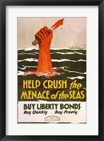 Framed Help Crush the Menace of the Seas