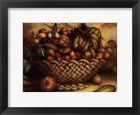 Framed Fruit Basket