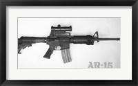 Framed AR-15